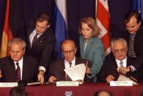 Potpisivanje Daytonskog sporazuma / Foto:HD