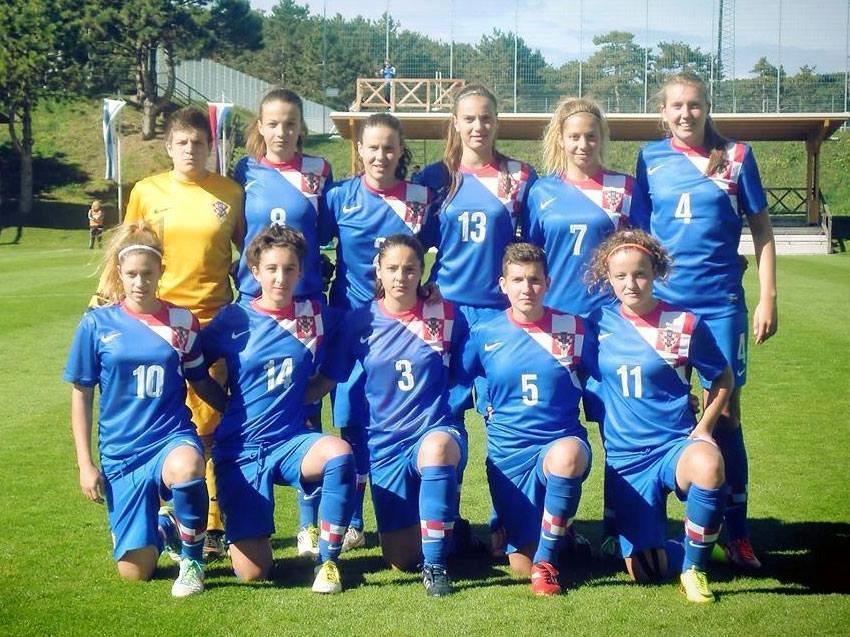 hrvatska zenska nogometna reprezentacija 1