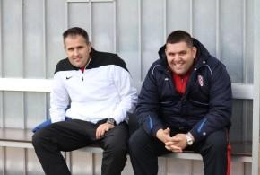 Trener Croatije Danijel Konta (lijevo) sa bratom Stanislavom Kontom