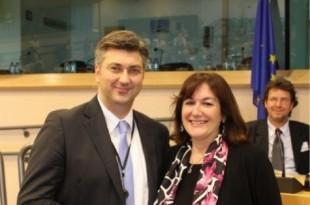 Andrej Plenković i Dubravka Šuica