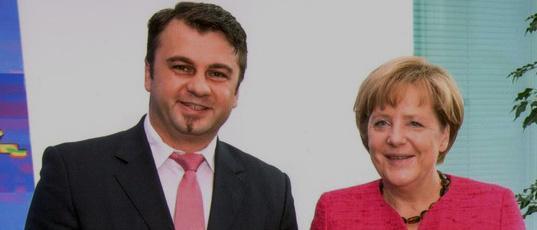 Mijo Maric i Angela Merkel