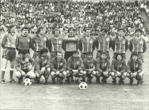 NK Dinamo Stuttgart, pocetkom osamdesetih