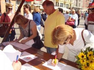 prikupljanje potpisa