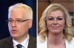 Bitka za Pantovčak: Josipović i Grabar Kitarović u drugom krugu