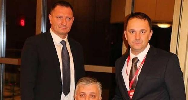 Josip Klemm, Đuro Glogoški i Dario Holenda na Domovnici u Bad Homburgu Foto:Fenix