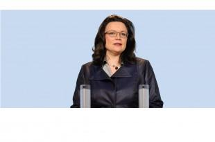Andrea Nahles, ministrica rada Savezne vlade Njemačke/foto:Facebook Andrea Nahles