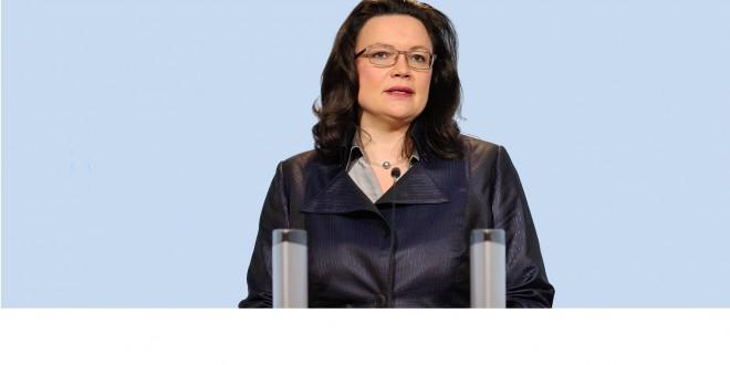 Andrea Nahles, članica SPD-a i ranija ministrica rada Savezne vlade Njemačke/foto:Facebook Andrea Nahles