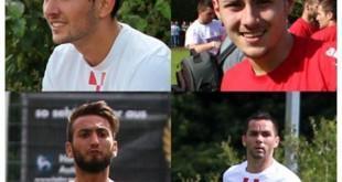 Ozlijeđeni igrači Croatie: Blažević, Galić, Margarit i Chatzimalousis