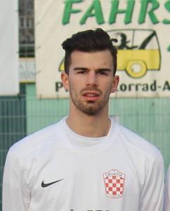 Patrick Faluta bio je jedini strijelac za Croatiju