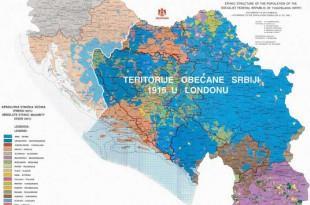 Foto: Dubrovački vjesnik/Ilustracija karte Velike Srbije