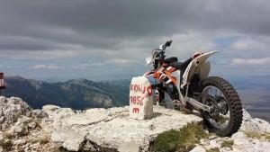 Doći s motorom na vrh Kamešnice ipak je moguća misija