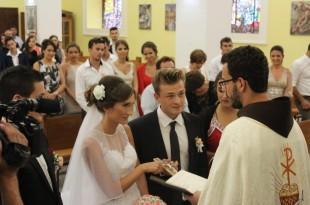 Kristina i Danijel su se vjenčali u crkvi sv. Ive u Podhumu na Buškom Blatu