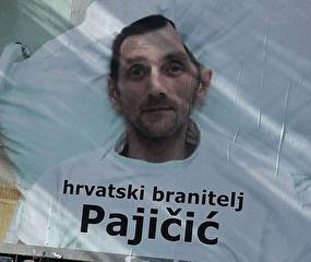 Plakat sa slikom Darka Pajicica