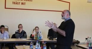 Pater Ike Manduric u Frankfurtu