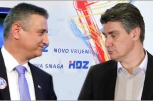 Tomislav Karamarko i Zoran Milanovic