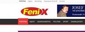 Lazni logo Fenixa