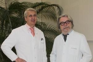 Dr. Ivo Martinovic sa kolegom iz klinike u Marburgu_Fenix Magazin