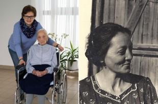 Anna Medwenitsch i njena unuka Maria (50 g.) Desno Anna prije 65 godina
