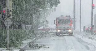 Travanjski snijeg u Austriji