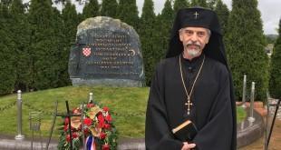 Hrvatski arhiepiskop Aleksandar na Bleiburgu 2016. godine / Foto: Fenix
