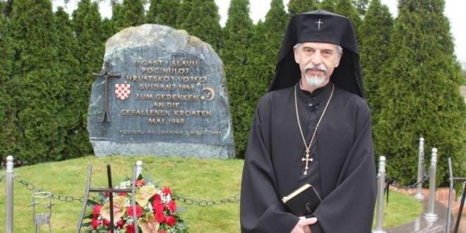 Hrvatski arhiepiskop †Aleksandar na Bleiburgu / Foto: Fenix Magazin