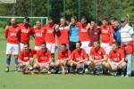 Prva momčad Croatie Frankfurt sa trenerima i upravom nakon pobjedu u Hausenu