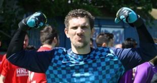 Pet golova u mreži vratara Croatije Frankfurt na otvaranju prvenstva / Foto:Fenix Magazin