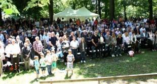 Sv.misa na otvorenom u Hofheimu am Taunus