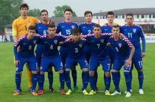 Mlada hrvatska reprezentacija U-19 Foto:HNS