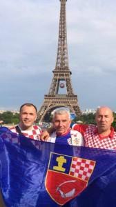 Ramci u Parizu! Inače Düsseldorf/Neuss! Sičaja, Vidakušić i Paponja