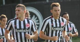 Ante Rebić i Branimir Hrgota u dresu frankfurtskog Eintrachta