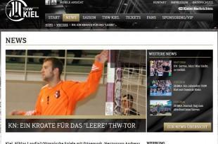 Svebor Crnojević / Foto: www.thw-handball.de