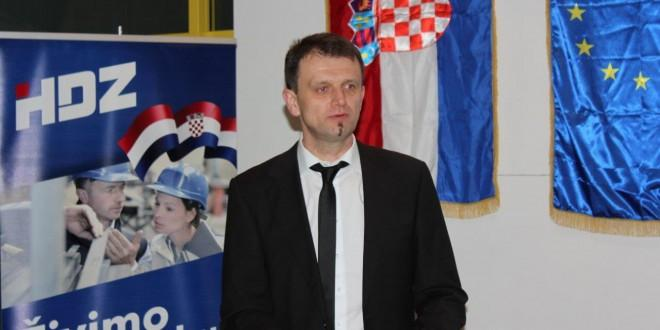 Predsjednik Koordinacije HDZ-a B-W Mile Baričević