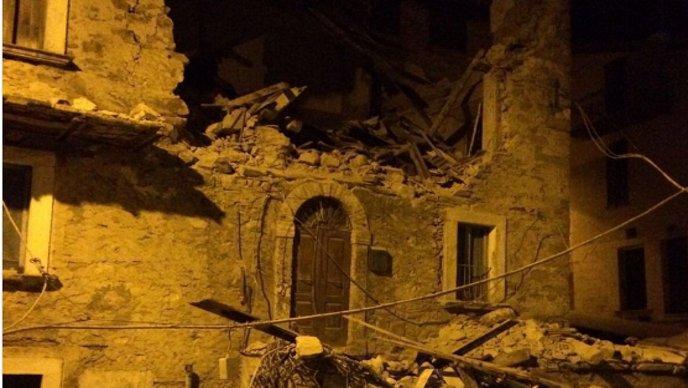 Sna An Potres U Italiji Od Gradova Ostavio Samo