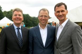 Prof.dr. Axel Ekkernkamp, ministar Mario Czaja i prof. dr. Dragan Primorac