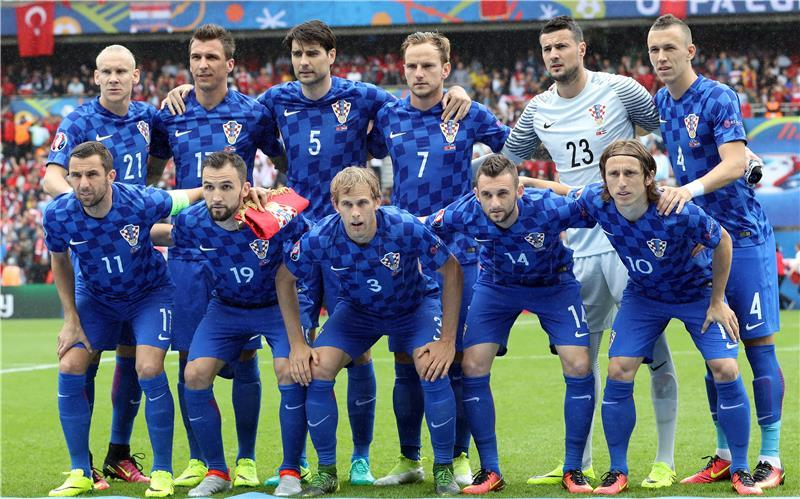Arhivska snimka hrvatske nogometne reprezentacije / Foto: Hina