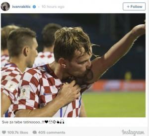 rakitic instagram