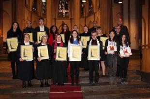 Nagrađeni na 19. Smotri zborova HKM Njemačke u Neussu nagrađeni