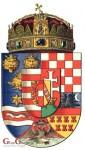 Ugarsko-hrvatski grb s krunom Sv. Stjepana u Budimešti/ Foto: Fenix