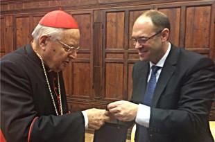 Davor Ivo Stier u Vatikanu Foto:FaH
