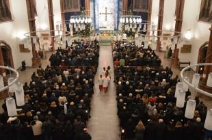 Hrvatima u Berlinu poruku je odaslao apostolski nuncij dr. Nikola Eterović         Foto: Sonja Breljak/HGB