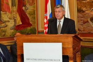 Potpredsjednik Hrvatskog sabora akademik Željko Reiner