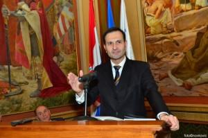Bivši ministar vanjskih i europskih poslova, a sada predsjednik Odbora za vanjsku politiku Hrvatskoga sabora dr. sc. Miro Kovač