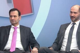 Dr Miro Kovač (HDZ) i Joško Klisović (SDP) ponovno suprotnih političkih stavova / Foto:HRT