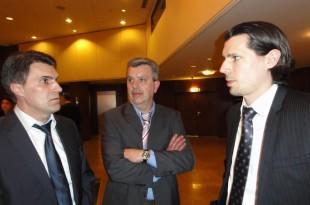 Slobodan Galić, Željko Kordušić i Davor Prtenjača/ Foto B. Žepić