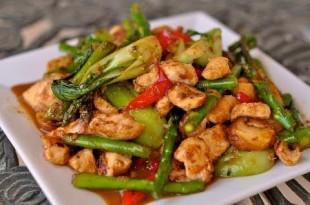 piletina s povrcem hrana