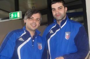 Damir Svalina i Tomislav Vidačković (KSD Zrinski Waiblingen)