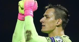 Bivši vratar Hajduka Lovre Kalinić junak utakmice protiv Tottenhama Foto:FaH