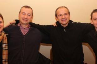 Miroslav (drugi desno)  s bratom i njegovom obitelji
