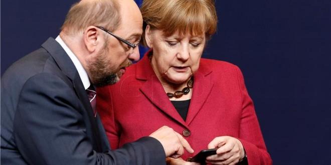 Martin Schulz predstavio je u nedjelju u Berlinu svoj predizborni program kojom planira svrgnuti kancelarku Angelu Merkel / Foto: Hina